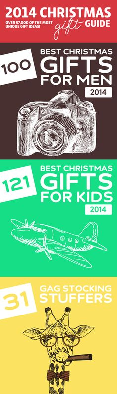 2014 Christmas Gift Guide- over 57,000 of the most unique gift ideas.