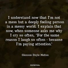Strength Quotes : #INFJ because Im paying attention