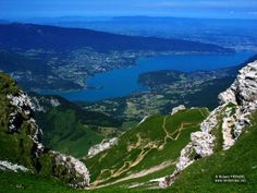 Lac Annecy Tournette/Annecy Lake ~ Photo by Roland Frenzel