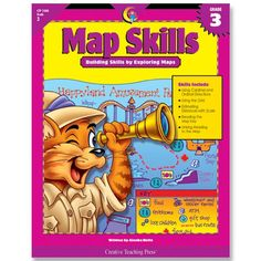 Map Skills PDF By:Alaska Hults Published on by Creative Teaching Press 19 maps and related activities perfect for teaching first . Improve Reading Comprehension, Comprehension Strategies, Reading Strategies, Creative Teaching Press, Teaching Kids, Map Symbols, What Is Reading, Rainbow Resource, Map Skills