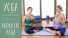 Prenatal Yoga - 5 Poses for All Trimesters - YouTube