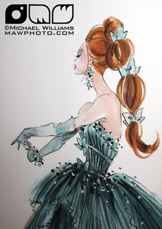 Robert Best, Barbie #fashion #illustration #art
