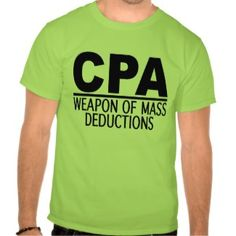 Chartered Accountant T Shirts