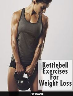 More Kettlebell, Please! 9 Calorie-Torching Exercises - Burn up to 400 calories in 20 minutes with kettlebell exercises Fitness Workouts, Fitness Motivation, Fitness Diet, Fitness Goals, Health Fitness, Body Workouts, Workout Tips, Enjoy Fitness, Fitness Quotes