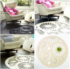 Charming-Felt-Rug-Designs-from-Michelle-Mason feltro