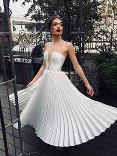 Sexy V Neck Solid Color Pleated Strapless Dress, Shop plus-sized prom dresses for curvy figures and plus-size party dresses. Ball gowns for prom in plus sizes and short plus-sized prom dresses for Sexy Dresses, Evening Dresses, Fashion Dresses, Prom Dresses, Wedding Dresses, Tight Dresses, Cheap Dresses, Formal Dresses, Bridesmaid Dresses