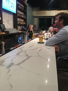 Statuario Venato quartz Bar top