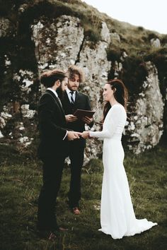 Stunning intimate ceremony in Isle of Skye | Image by Ash & James Photography'