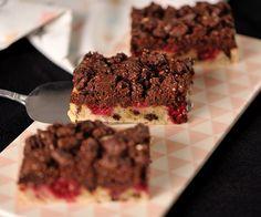 B.B.'s Bakery » Cookie-Blondies mit Himbeeren