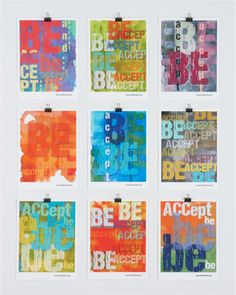 accept and be poster in one of a finds | CB2