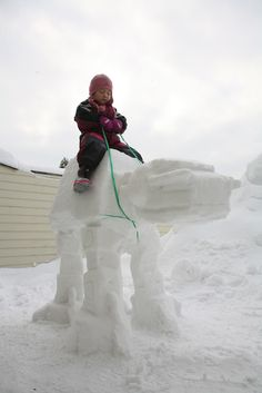 Giant AT-AT Imperial Snow Walker