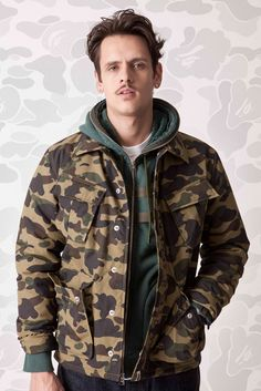 Patiently waiting for winter! A Bathing Ape 2012 Fall/Winter Lookbook