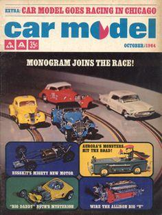 Car Model October 1964 Vintage Slot Car Racing Magazine