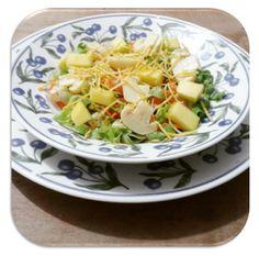 Garfo Publicitário | Adicione Publicidade e Pronto!: Salada Refrescante de Verão