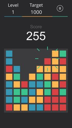 Relax with mellow music and playful animations. 2048 Game, Grid Game, Match 3 Games, Game Mechanics, Different Games, Game Dev, Game Concept, Modular Design, Mobile Game