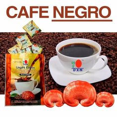 cafe-2-en-1-dxn-ganoderma-lucidum-D_NQ_NP_641958-MPE25715090106_062017-F Black Coffee, Coffee Time, Breakfast, Tableware, Food, Health Products, Health Foods, Birthday Messages, Good Coffee