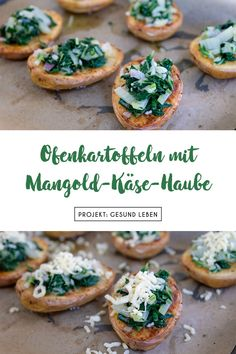 Ein super einfaches, schnell zubereitetes und sehr leckeres Sommer-Rezept: Ofenk… A super simple, quickly prepared and very tasty summer recipe: baked potatoes with a chard and cheese topping. Healthy Dessert Recipes, Clean Recipes, Eggplant Dishes, Baked Fish, Nutritious Meals, Queso, Clean Eating, Summer Recipes, Food And Drink