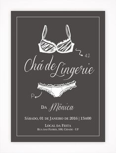 Convite Digital Chá de Lingerie 02