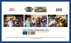 First Choice Industrial with My Dad's Garage at IWF Atlanta 2014