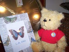 Jay Bear Jay Hadley desigined Artist Bear by SallyWineyBears