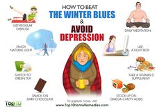 how to beat the winter blues and avoid depression - Health Nacks How To Stop Depression, Getting Over Depression, Beating Depression, Dealing With Depression, Fighting Depression, Depression Remedies, Depression Treatment, Green Tea Supplements, Adhd Help