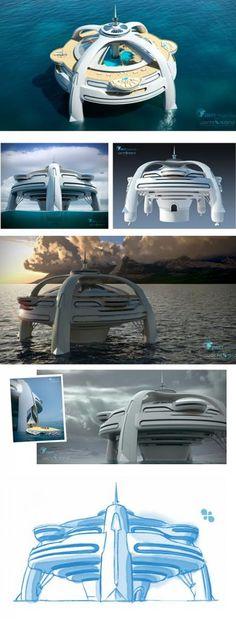 Project Utopia | Yacht Island Design Concepts | Themed Yacht Creators | Luxury Super Yacht Designers