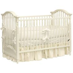 AFK Madison Applique Crib ($1,485) ❤ liked on Polyvore featuring home, children's room, children's bedding, baby bedding and baby