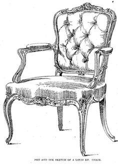 Fauteuil Louis XV.