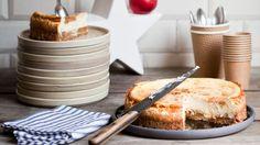 Cheesecake pommes Tatin