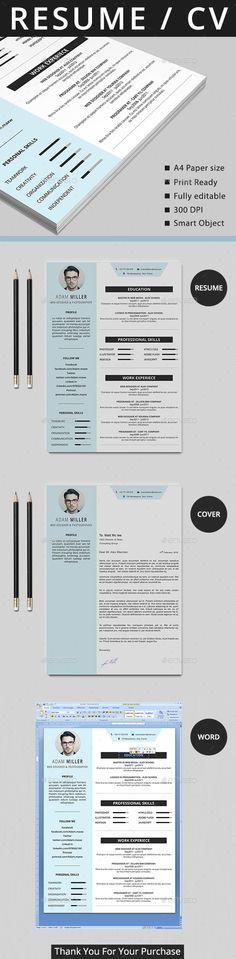 ... CV on Pinterest | Resume, Resume design and Graphic design resume