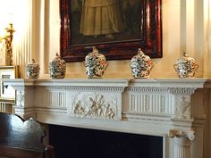 The Library - Polesden Lacey - Great Bookham - Surrey - England