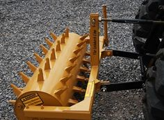 Lawn Aerators and Pluggers for the 3 point hitch on your tractor. Aerate efficiently with our top rated core aerators and pluggers Metal Projects, Welding Projects, Tractor Accessories, Atv Accessories, Compact Tractor Attachments, Tractor Implements, Compact Tractors, Small Farm, Lawn Care