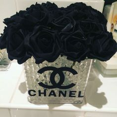 chanel diy table centerpiece - Google Search