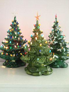454 Best Ceramic Christmas Trees Images In 2019 Vintage Ceramic