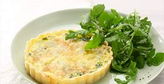 Chobani Yogurt -Spinach Quiche - Chobani Yogurt