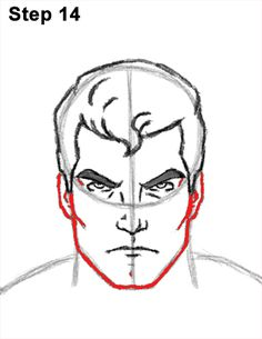 Superman Body Drawing 14 Superman Hair, Superman Drawing, Parts Of The Nose, Beginner Sketches, Superman Costumes, Draw Two, Nose Drawing, Sketches Tutorial, Favorite Cartoon Character