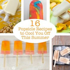 16 popsicle recipes to cool you off this summer