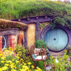 hobbithouses: I call this one that hobbit…