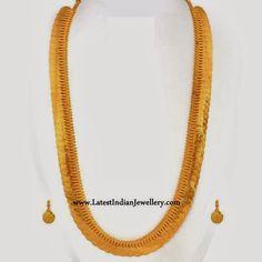 Traditional Kasu Mala Design