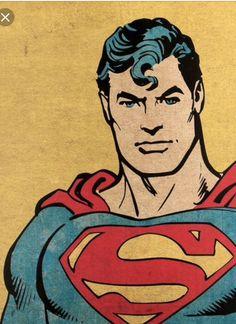Ideas For Pop Art Comic Superman Arte Do Superman, Superman Man Of Steel, Superman Comic, Batman Comics, Superman Drawing, Arte Dc Comics, Old Comics, Vintage Comics, Pop Art Comics