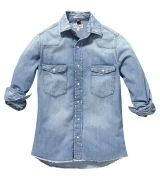 Chemise en jeans Well Done
