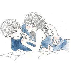 tell me why, or why not: Photo Manga Couple, Couple Art, Manga Love, Anime Love, Art And Illustration, Manga Art, Anime Art, Cute Couple Drawings, Final Fantasy Cosplay
