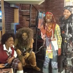 Cast from the Wiz