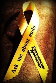 endometriosis ask me about it  March is coming everyone can help just by asking and educating!!