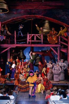 """Fifteen years ago at Disney's Hollywood Studios (formerly Disney-MGM Studios), the city of Paris came to life at the Backlot Theater as Quasimodo and friends took the stage for """"The Hunchback of Notre Dame - A Musical Adventure."""" This"""