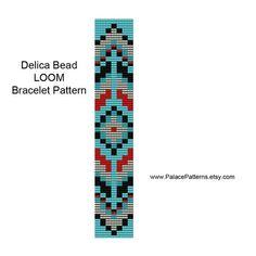 Bead Loom Bracelet Pattern Tribal 30 par PalacePatterns sur Etsy