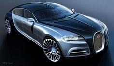 El Buggati Galibier será el coche más rápido y potente del planeta