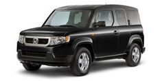 Honda Element - Tapper's new car!  Complete with the Dog Accessory package. . . can't wait to get it!