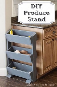 DIY Produce Stand - DIY Gift World