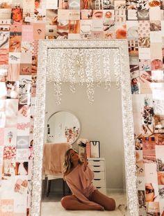 Cute Room Ideas, Cute Room Decor, Teen Room Decor, Room Decor Teenage Girl, Picture Room Decor, Wall Decor, Room Ideas Bedroom, Bedroom Decor, Bedroom Inspo